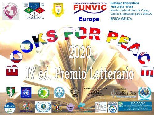 UNVS 'Liguori' tra gli organizzatori della IV Ed. Booksforpeace 2020