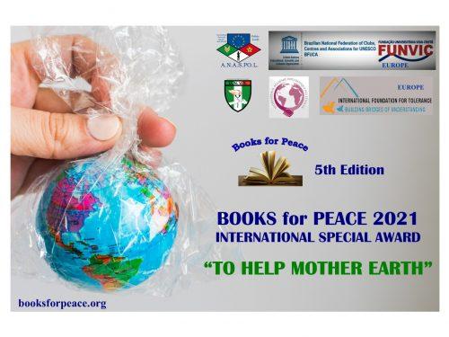 Books for Peace 2021 – presentato il Manifesto della V edizione
